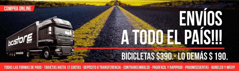 Envío de Bicicletas
